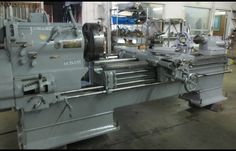 "Used Leblond Sliding Gap Bed Lathe 20/42"" x 72/120"""