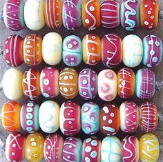 MruMru handmade Lampwork glass bead set. Sra | eBay