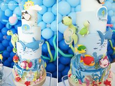 Lima Limão - festas com charme: O Peixinho da Maré: 1º aniversário do Herman!