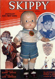"1929-43 Effanbee 14"" Skippy played by Jackie Cooper"