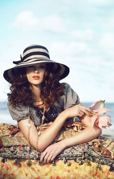 Striped Hat Gorgeous!