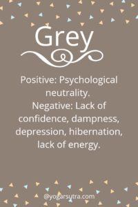#Color Psychology. GREY Positive: Psychological neutrality. Negative: Lack of confidence, dampness, depression, hibernation, lack of energy. Color Psychology Marketing, Color Psychology Test, Psychology Meaning, Psychology Studies, Psychology Facts, Psychology Experiments, Color Symbolism, Colors And Emotions, Lack Of Confidence