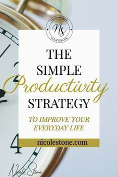 The best productivity tip to get more done. Increase your productivity with  time block management and become efficient the easy way!  #productivity #Productivitytips