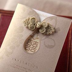 Chinese Wedding Invitation Card, Box Wedding Invitations, Wedding Invitation Design, Wedding Stationary, Wedding Cards, Wedding Card Design Indian, Wedding Designs, Oriental Wedding, Asian Cards