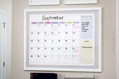 kitchen command center calendar
