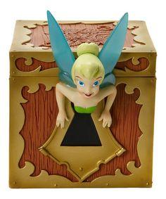 Look what I found on #zulily! Disney Showcase Collection Tink Treasure Chest #zulilyfinds