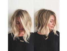 HOT! Cieniowane fryzury półdługie w najmodniejszym wydniu. Sprawdźcie, jakie fryzury są na czasie!