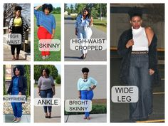 Find the perfect jeans for your shape in my latest post!