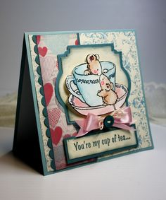 Inspired and Unscripted: Penny Black and Magnolia Stamps Cards