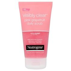 Neutrogena Visibly Clear Pink Grapefruit Scrub 150ml