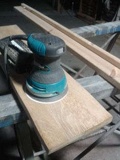 Preparando las maderas