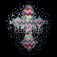 "PASTEL FABRIC CROSS BURST""burst, Cross, fabric, pastel, sequin, Material Transfer, Crosses & Fleurs De Lis"" glitter lace"