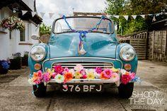 Classic Morris Minor Wedding Car