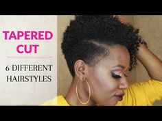 12 Natural Tapered Cuts According to Face Shape | Black Girl with Long Hair