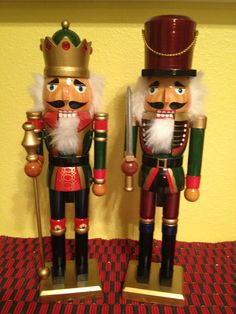 Nutcrackers, MY SISTER-IN-LAW LOVES THESE, HI BETH, LOVE YOU, HI BRO, LOVE U 2