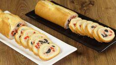 Ricetta Baguette ripiena con crema al tonno e verdure: La baguette ripiena con…