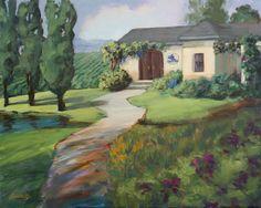 Sue Cervenka: Winery on the Hill