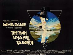 Poster from the film The Man Who Fell To Earth