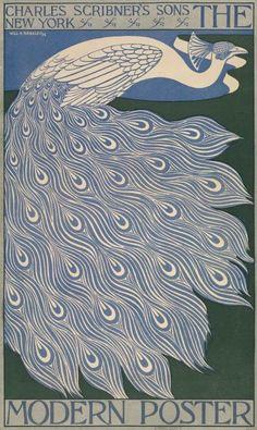 Poster by Will Bradley (1868-1962), 1895, The modern poster. (American Art Nouveau illustrator) | JV