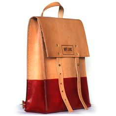 I want this bag !!Standard Rucksack — Mifland : A Leather Goods Company
