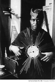 Researching Sun Ra to take elements of his individualistic and space-inspired aesthetic in order to apply them to our own. (Cora Clarke for TT Brief)