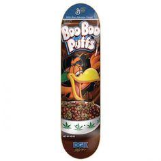 DGK Skateboards DGK Boo Johnson Boo Boo Puffs Deck 8x32