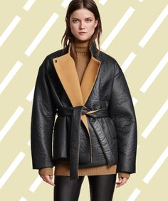 Cute Statement Coats Winter Style | Why live through a gray winter world when you can amp it up to a loud wonderland instead? These 26 statement coats will take you there. #refinery29 http://www.refinery29.com/winter-statement-coats