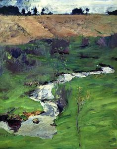 Isaac Levitan - A Creek 1899