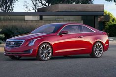 Cadillac ATS Coupé, 2.0 turbo da 276 cv e 400 Nm - Cadillac aggiorna il suo stemma #cadillac   http://www.auto.it/2014/01/14/cadillac-ats-coupe-2-0-turbo-da-276-cv-e-400-nm/18088/