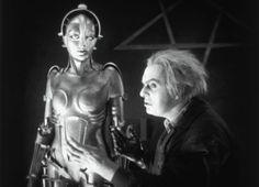 """Rudolf Klein-Rogge, Brigitte Helm, """"Metropolis"""", directed by Fritz Lang, 1927"""