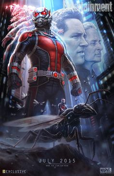 FREAK LIKE US: Trailers: Ant-Man y Los Vengadores: La Era de Ultrón