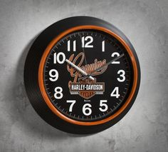 Genuine Harley-Davidson clock. Best thing about this clock.......it's always time to ride.