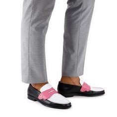 Iconic Loafer Black & White   Sophia Webster Sophia Webster, Shoe Box, Shoe Brands, Moccasins, Loafers Men, Calves, Dust Bag, Take That, Vans
