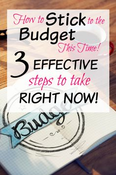How to Stick to the Budget This Time! The best way to budget. Top 3 Things That Are Working For Our Family Make Money Blogging, Saving Money, How To Make Money, How To Get, Face The Music, Natural Lifestyle, Going Natural, Frugal Tips, Best Budget