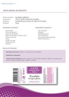 - Quemaduras - Efecto adelgazante - Retención de líquidos - Dolores musculares / Dolor de nuca - Efecto refrescante - Casp...