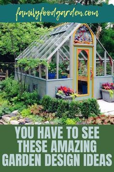 """Creating a garden takes some thought, planning and time. Family Food & Garden has compiled a comprehensive guide that offers dream garden design ideas on a budget that you have to see. With many options to sketch your beautiful garden, our guide gives you some unique ideas that are not the standard """"plant now bloom later"""" type of garden. Some of these ideas will require a 1-5 year plan and we take you step-by-step. Learn more to upgrade your garden…#gardendesign #gardenplan"""