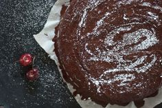 Vegan Cherry Chocolate Cake Recipe - Cookie and Kate (Sub Vegetable Oil For Healthier Option & Wheat Flour)