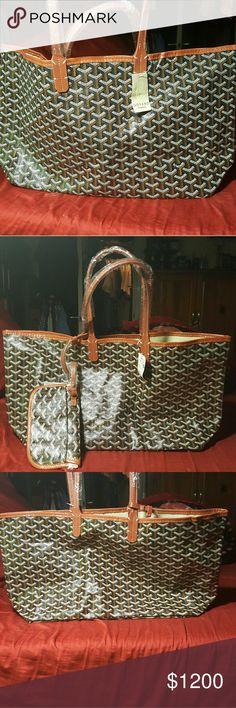 Goyard St.Louis Chevron purse Goyard Chevron St.Louis purse, new Goyard Bags
