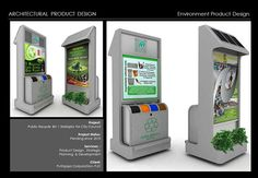 Architectural Product Design : Recycle Bin. on Behance