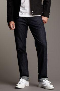 William Rast Men  Logan Straight Leg Jean