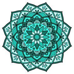 Mandala Artwork, Mandala Drawing, Doodle Patterns, Fabric Patterns, Rosemaling Pattern, Mandala Coloring, Tile Art, Whimsical Art, Mandala Design