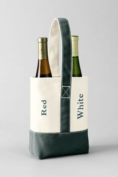Forget the usual paper bottle bag. This durable canvas bottle tote is ideal  for  . Hostess GiftsHoliday GiftsChristmas ... 6c53c8c283efa