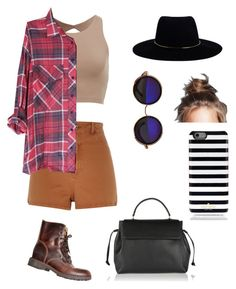 """""""Untitled #1"""" by alexvirtue on Polyvore featuring River Island, Zimmermann, Kate Spade and Lanvin"""