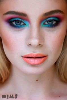 School Makeup, Makeup Studio, Creative Colour, Bucharest, Diana, Makeup Looks, Make Up, Bright, Facebook