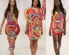 London Graduate Fashion Week   Print & Pattern Highlights A/W 2012/13 catwalks