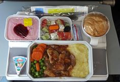 ArkeFly meal. Airline meal.