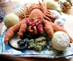 tricot gourmand: Les poissons / Emile Lobster