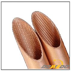 Inner Grooved Air Condition Copper Pipes , Copper inner grooved tube
