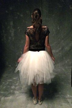 White tulle skirt tulle skirt lace t-shirt White Tulle Skirt, Unique Dresses, Wedding Attire, Custom Made, Ballet Skirt, Top Photo, Photo Shoot, Skirts, How To Wear