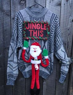 NWT Despicable Me Minion Christmas Holiday Sweater Size M L Gray Color